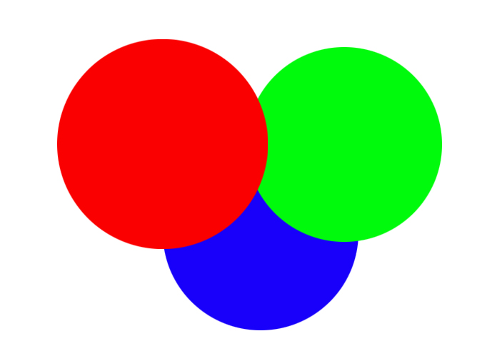 Three overlapping circles - difference sequence