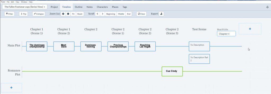Plottr - structuring your story