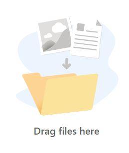 Example upload icon