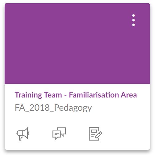 Familiarisation Area Image