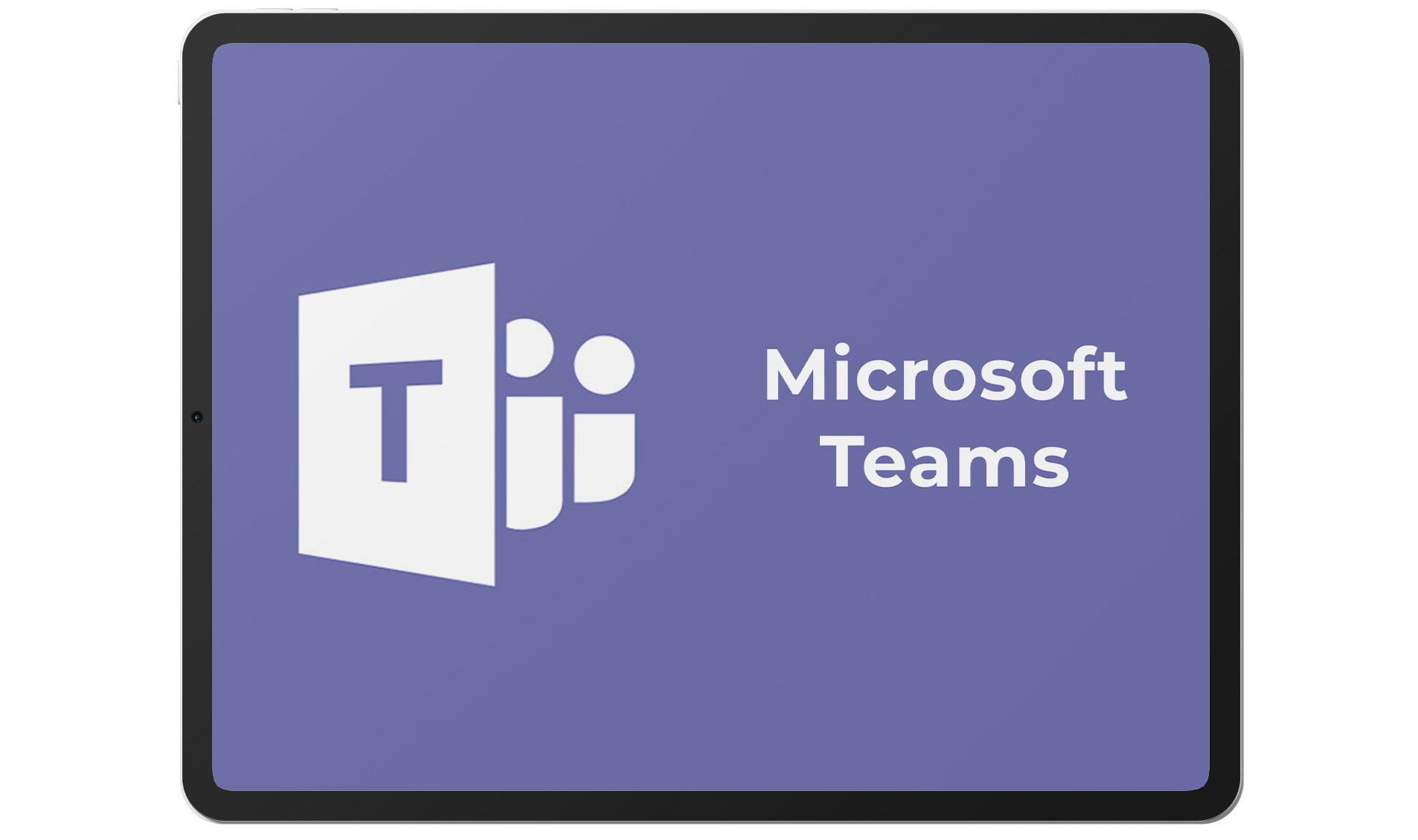 Teams-tablet