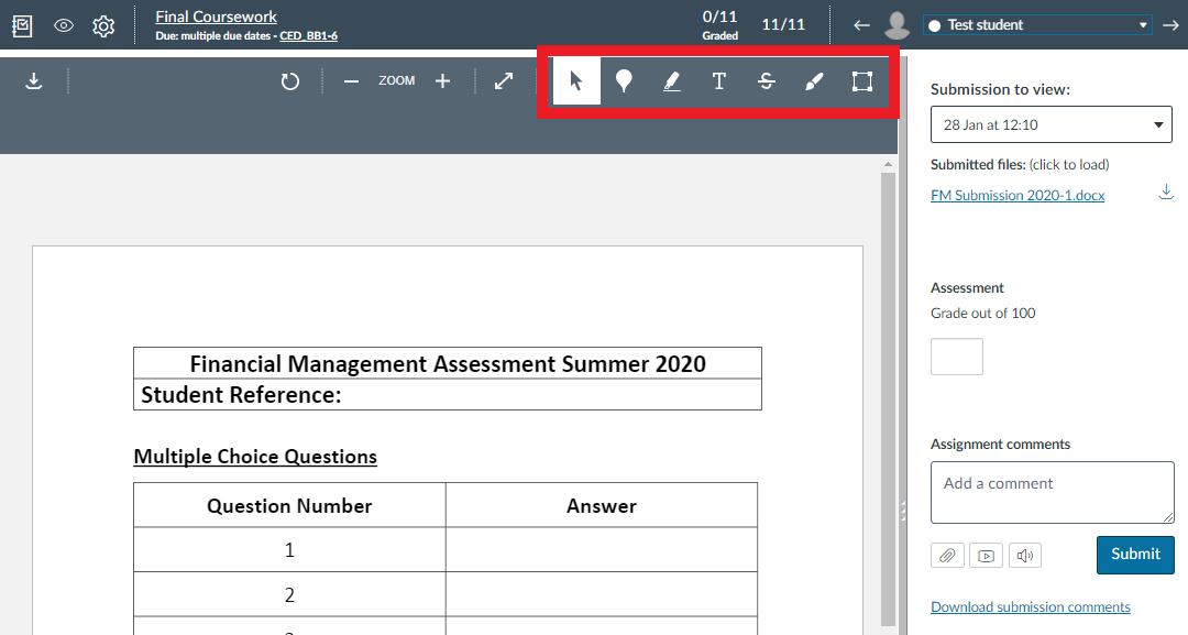 Annotations Tool Screenshot