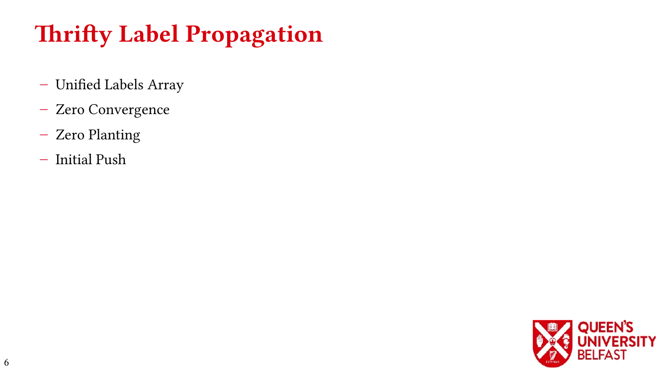 Thrifty Label Propagation