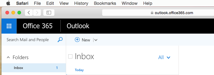 Setting up student Office365 email in Apple Mail | Screenshots from