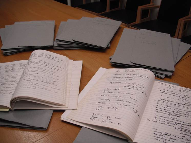 Seamus Heaney manuscripts